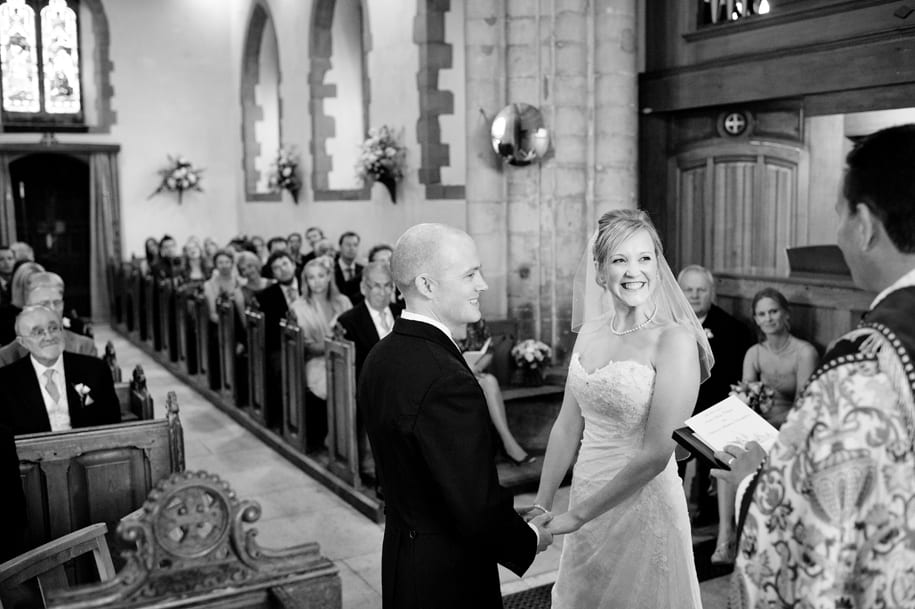Ditchling church wedding ceremony