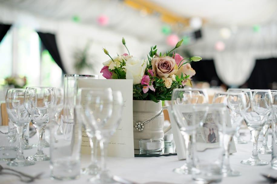 Ridge Farm Wedding reception