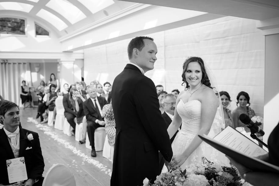 Pembrodke Lodge wedding ceremony