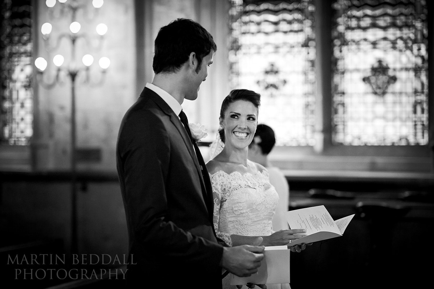 Wedding at St Etheldreda's