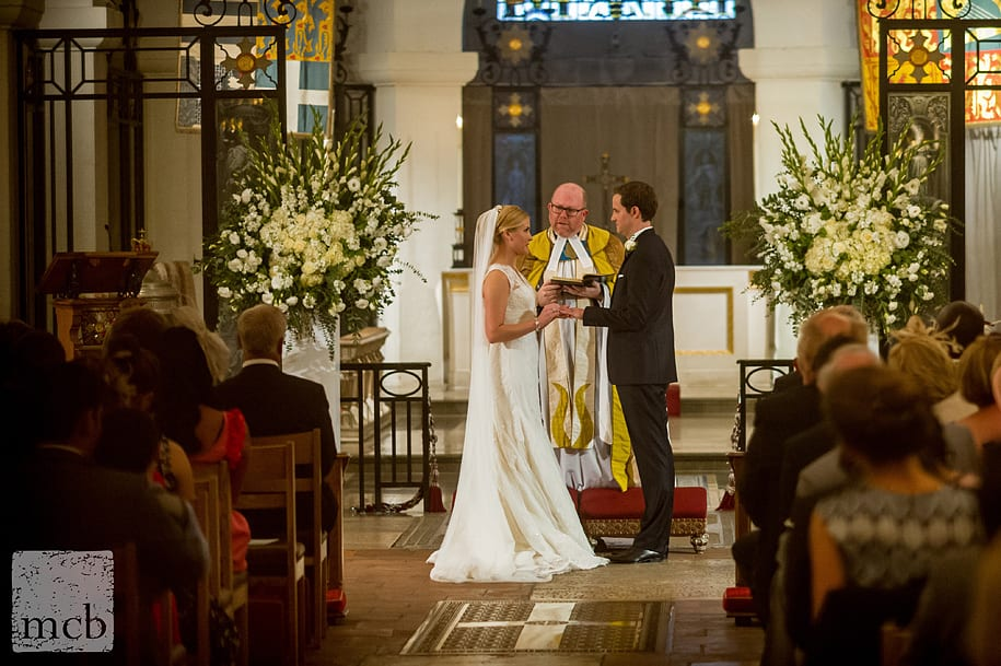 OBE Chapel wedding ceremony