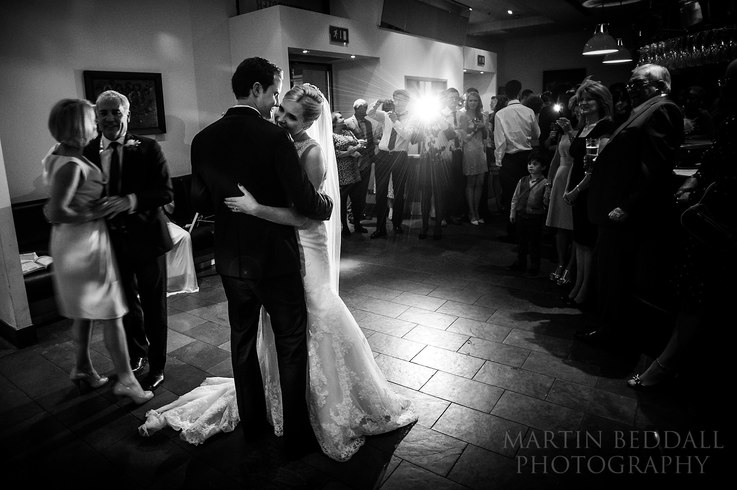First dance at Paternoster Chop House wedding reception