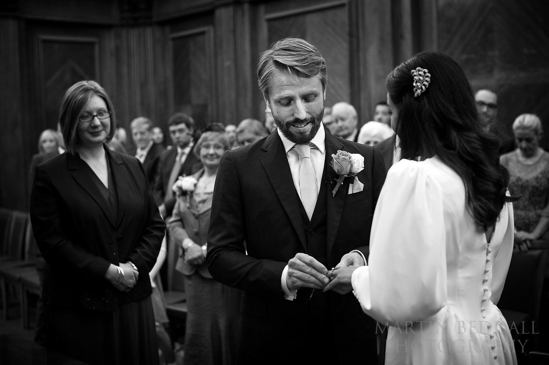 Old Marylebone Town Hall wedding ceremony