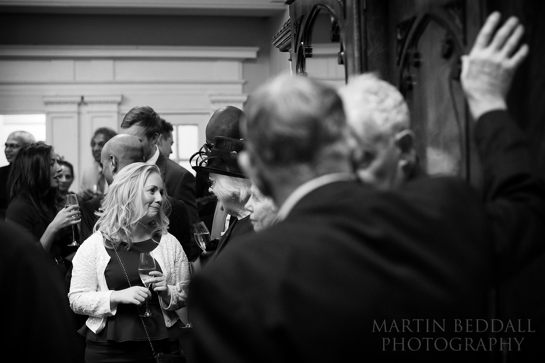 20th Century Theatre wedding reception