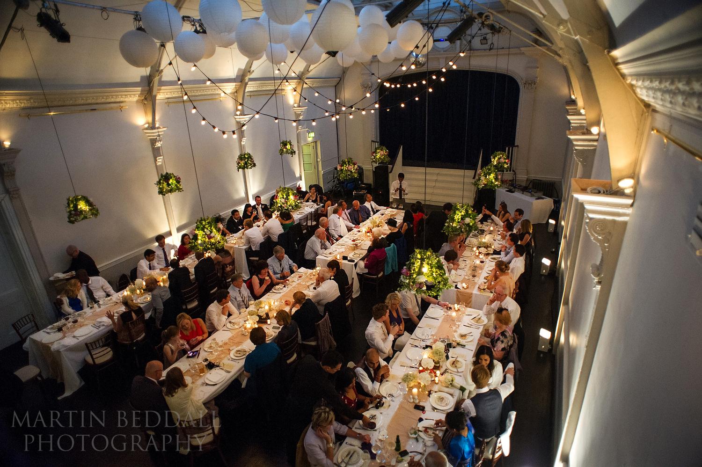 20th Century Theatre wedding meal