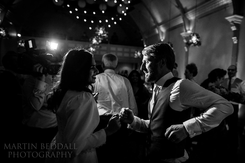 20th Century Theatre wedding reception dancing