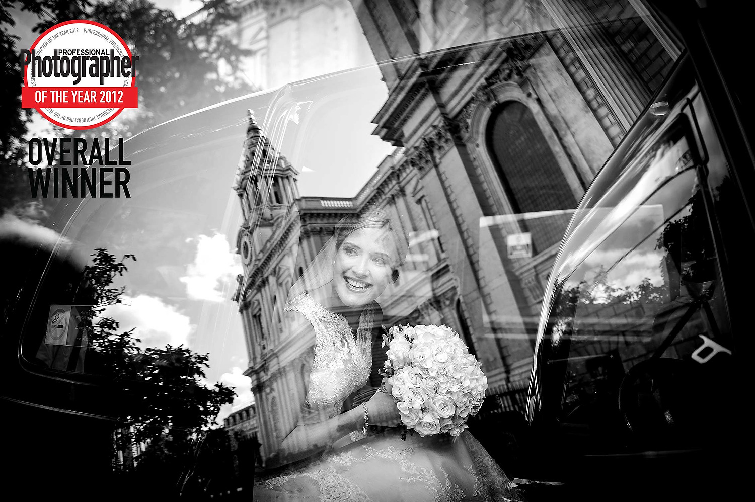 Photographer of the year award for a London wedding photograph