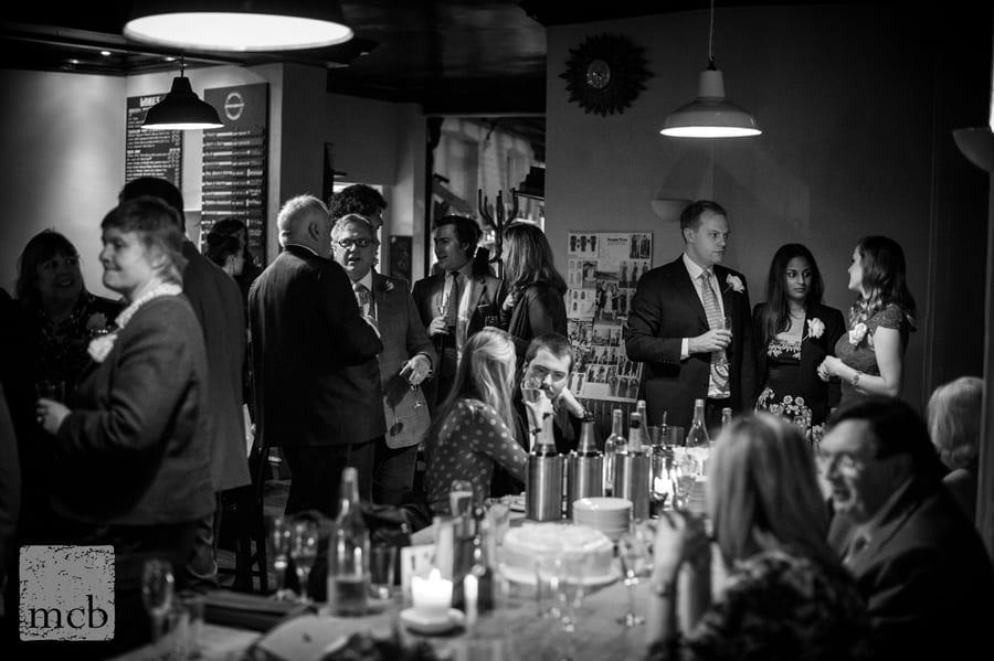 Duke of Cambridge pub Islington wedding reception