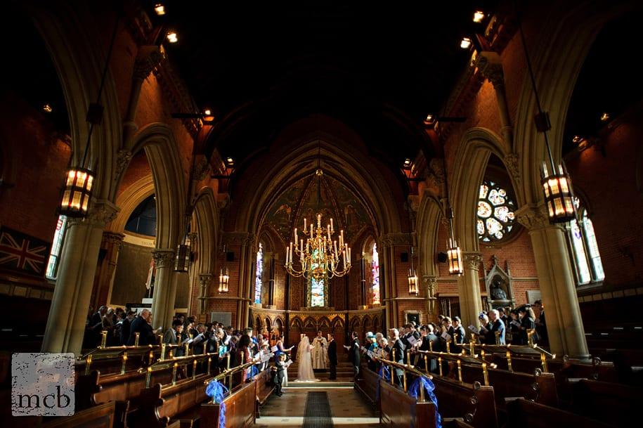 Wellington college chapel wedding ceremony