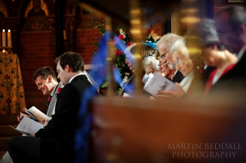 Wellington College wedding hymns
