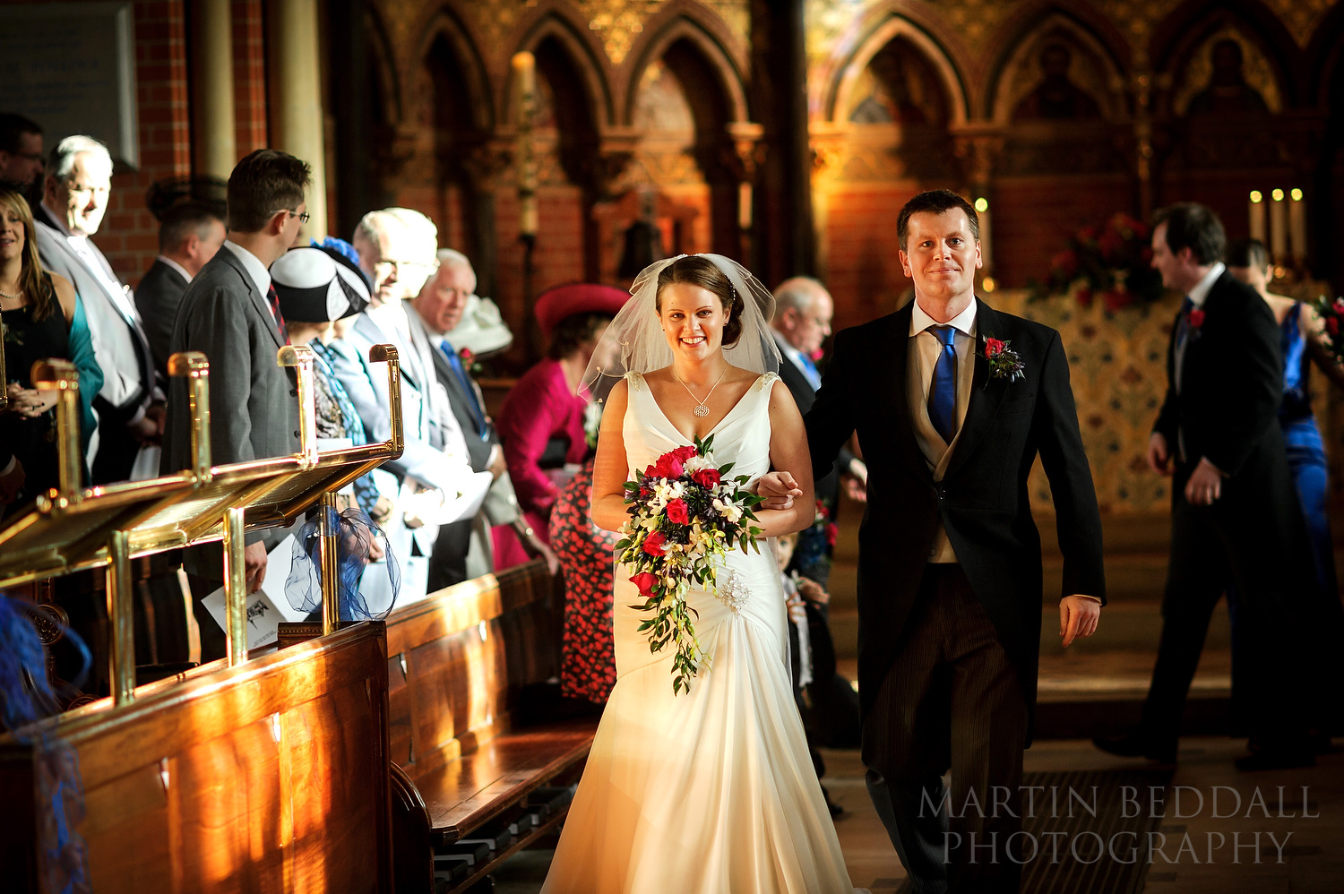Married at Wellington College wedding