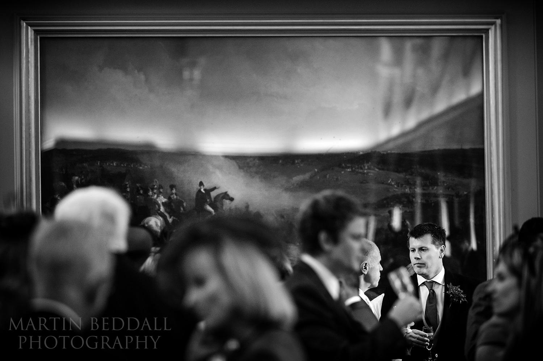 Wellington College wedding reception