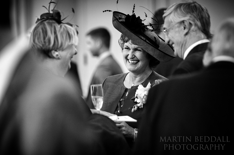 Wellington College wedding