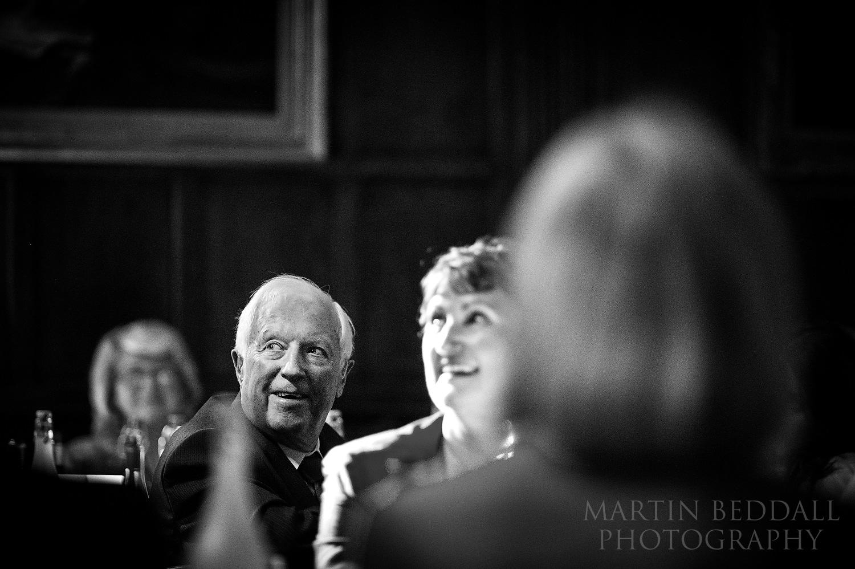 Wellington College wedding speech