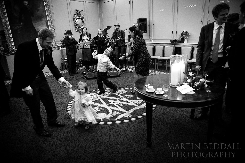 Wellington College wedding evening reception