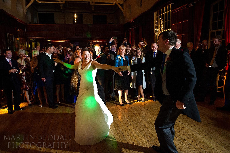 Wellington College wedding first dance