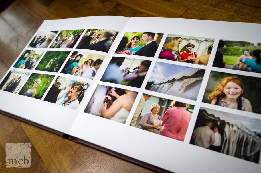 wedding album layouts by Martin Beddall