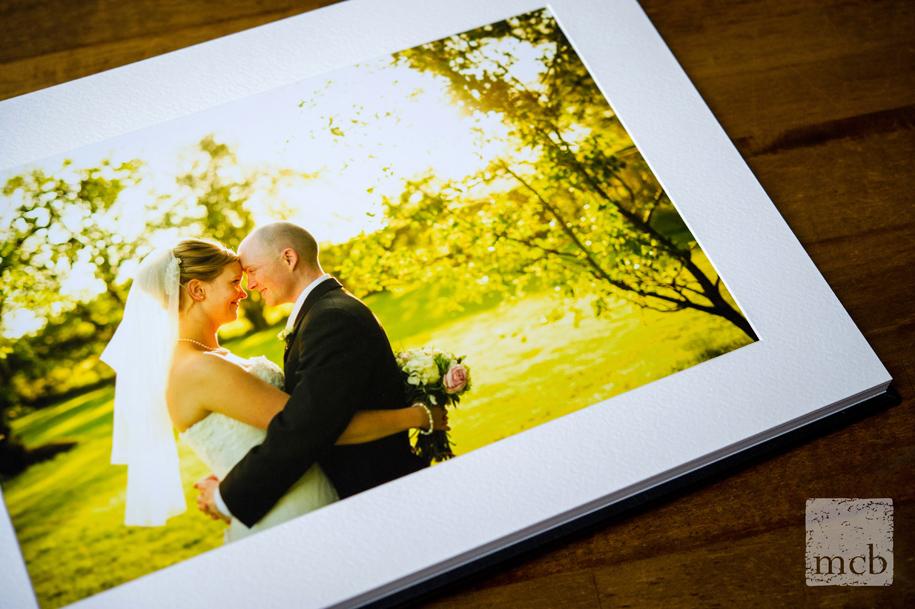 romantic wedding album