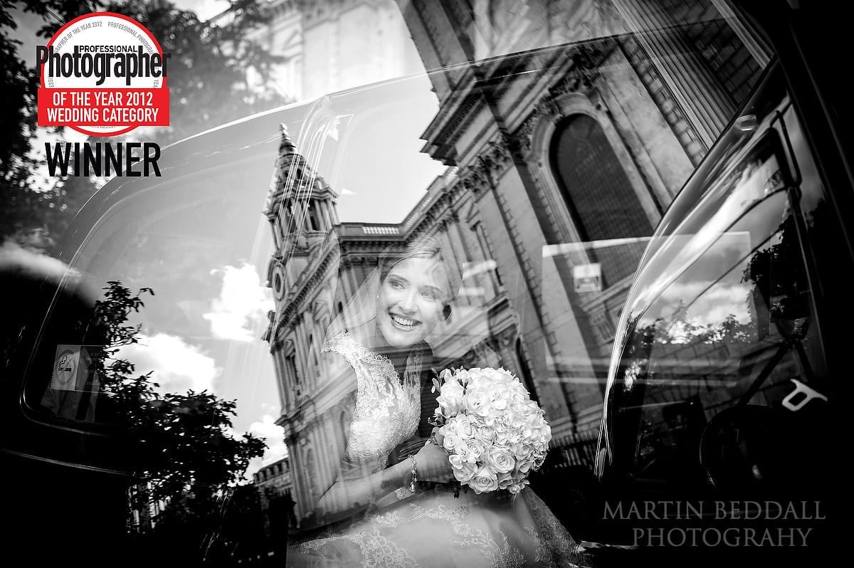 Image that won the wedding photography category