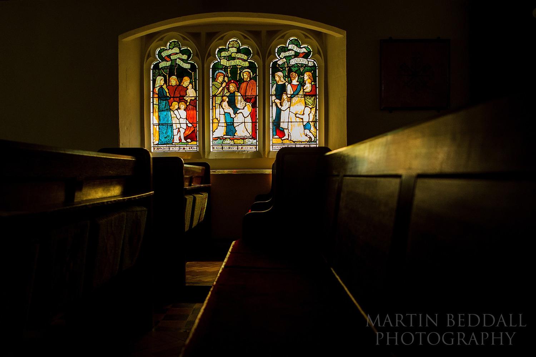 Newdigate church pews