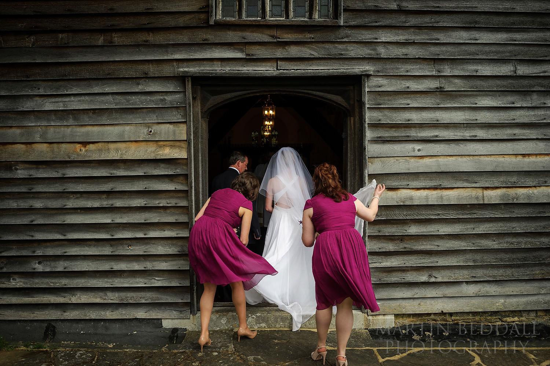 Newdigate church wedding
