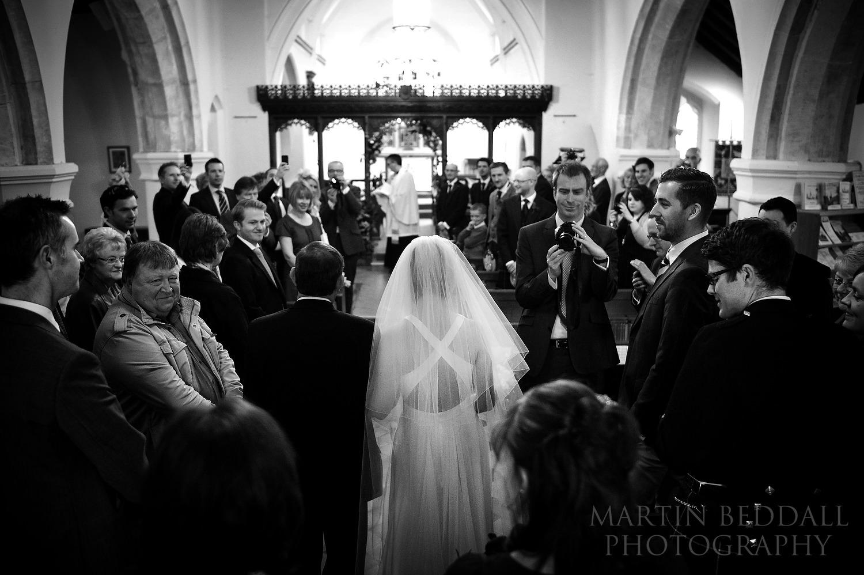 Newdigate church wedding ceremony