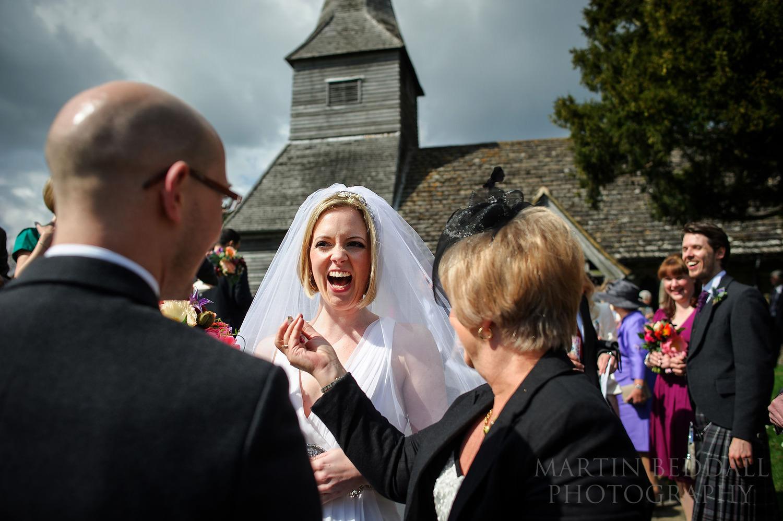 Newdigate wedding