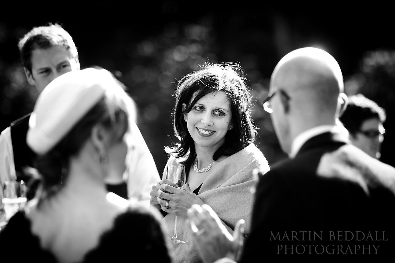 Guests at Coverwood Farm wedding reception
