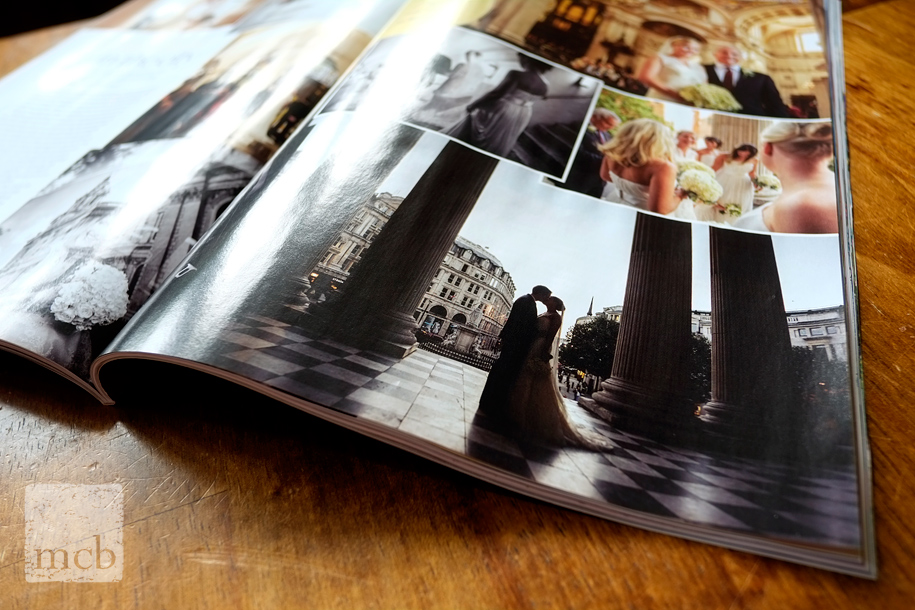wedding magazine picturespread for Martin Beddall