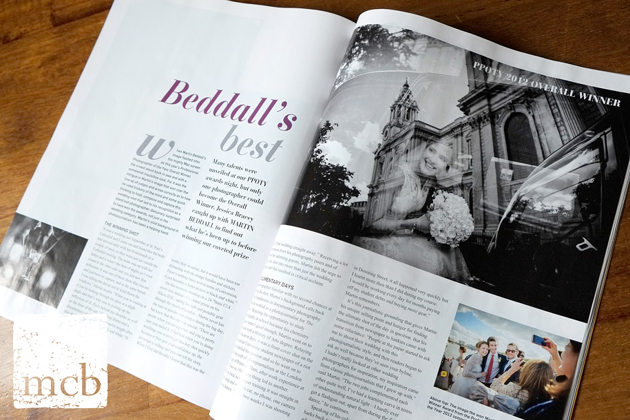 Interview with documentary wedding photographer Martin Beddall