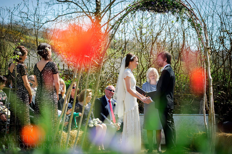 River Cottage wedding ceremony