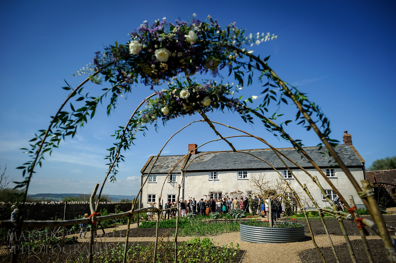 River Cottage wedding reception