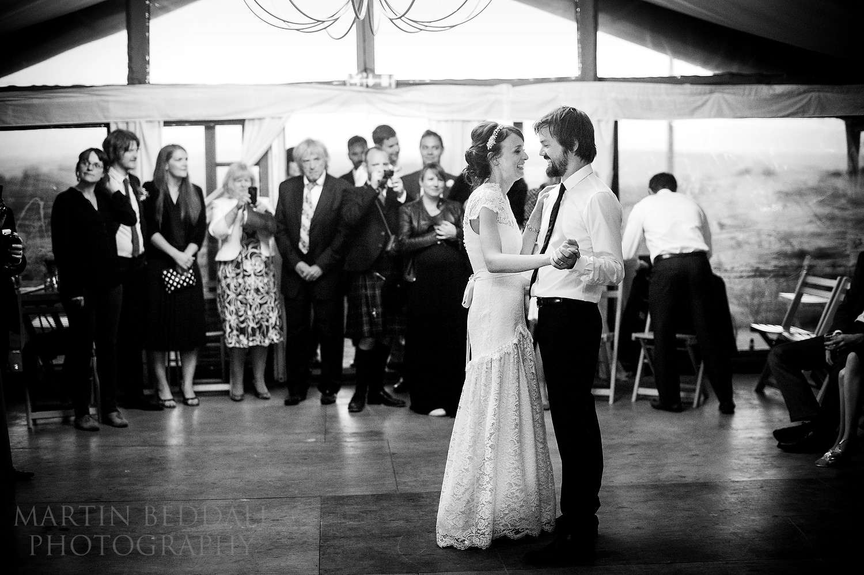 River Cottage wedding first dance