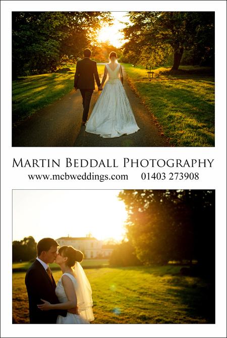 Sussex wedding photographer Martin Beddall