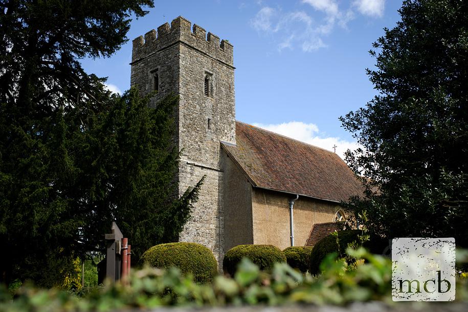 All Saints church in West Farleigh Kent
