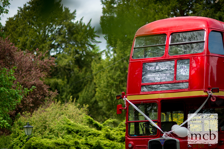 Wedding day routemaster bus special
