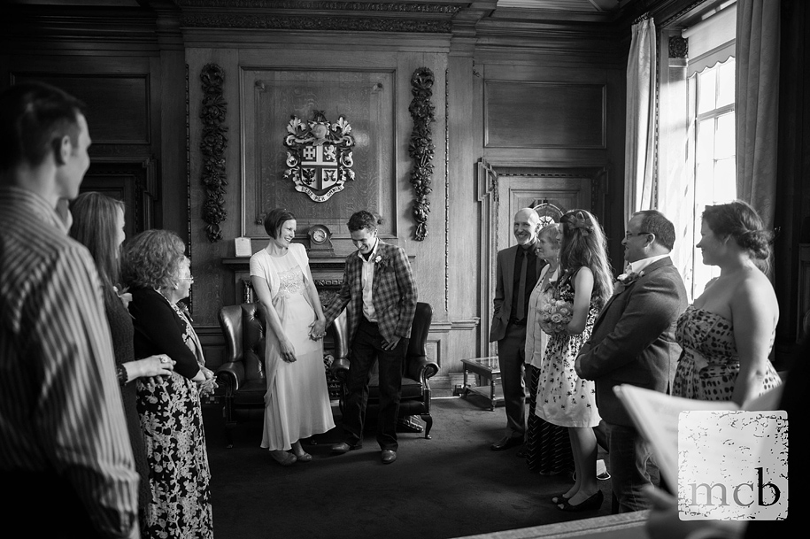 Islington town hall mayor's parlour wedding
