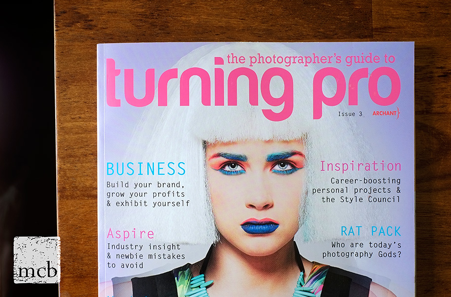 Issue 3 of the photographer's guide to Turning Pro