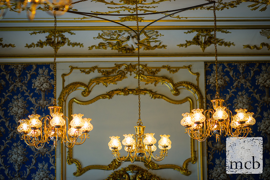 Elegant lighting at wrest Park