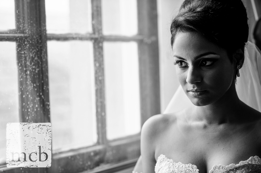 Portrait of a bride at Wrest Park