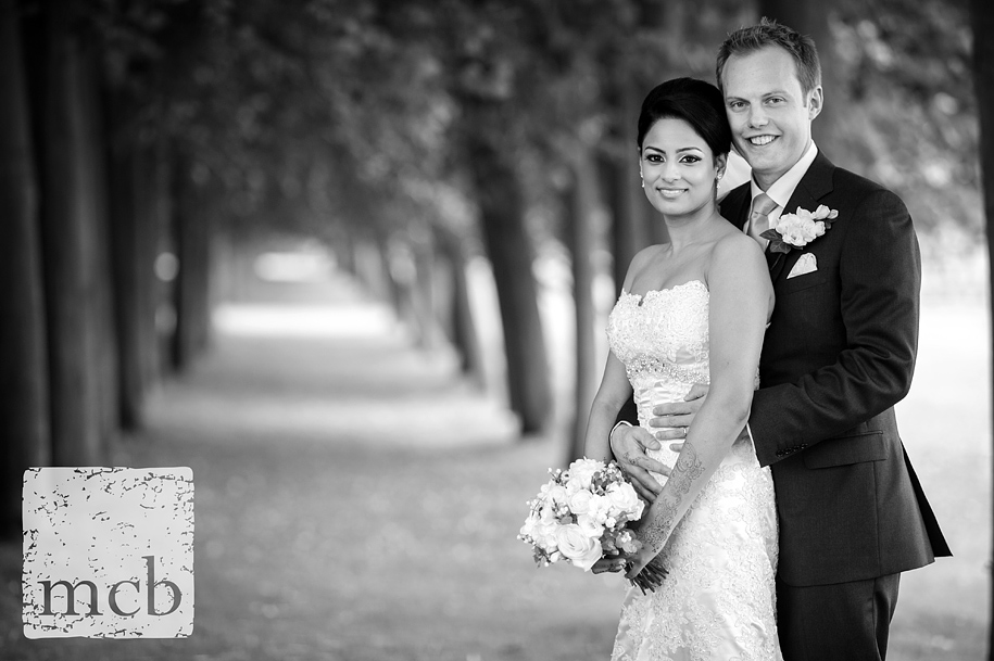 Wrest park couple portrait