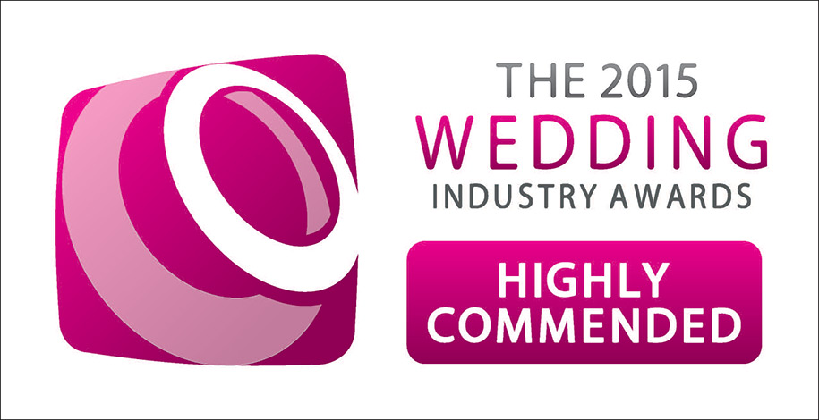Highly Commended prize in the Best Wedding Photographer 2015 awards