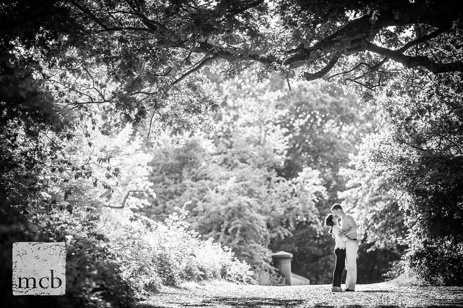 Hampstead heath engagement shoot