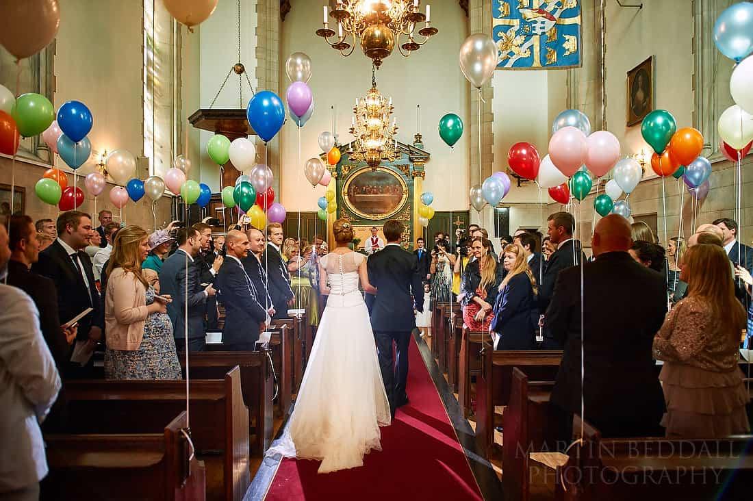 Swedish church wedding ceremony in London