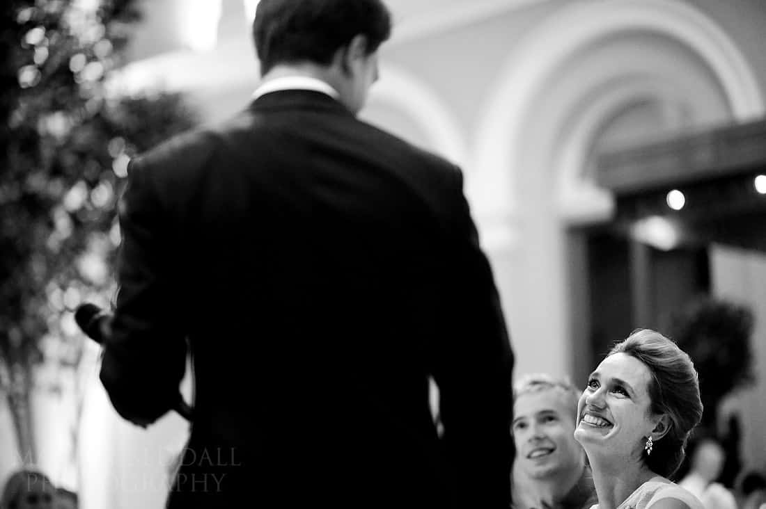 Wedding reception at The Wallace Collection