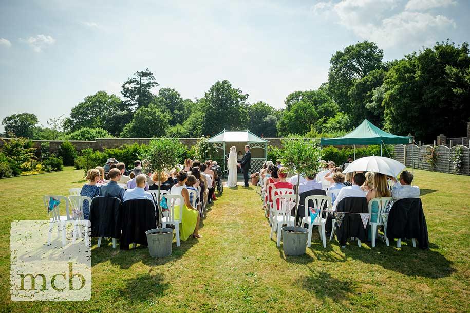 Wadhurst Castle wedding ceremony