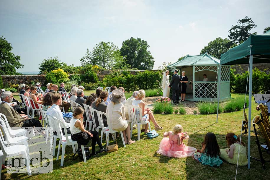 East Sussex wedding ceremony