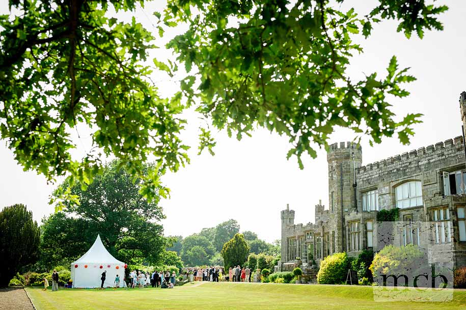 wedding reception at wadhurst castle