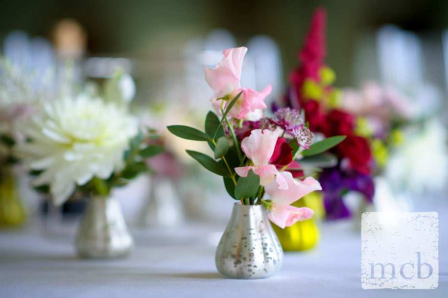 small flower tabel displays