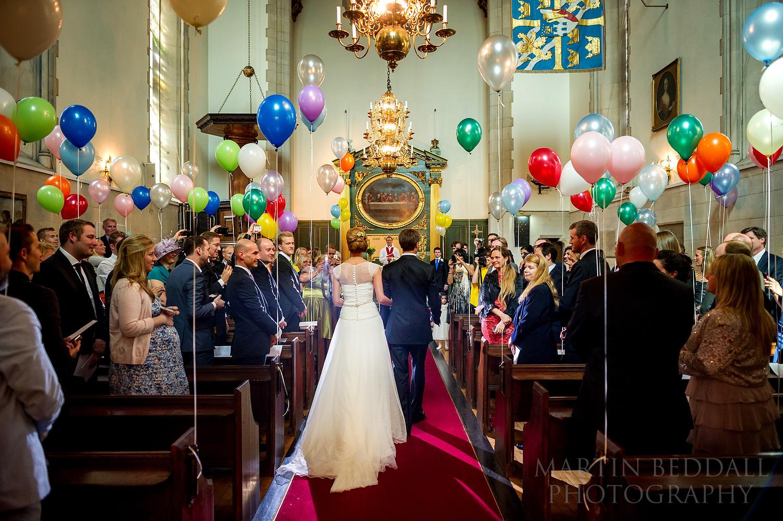 Ulrika Eleonora church wedding in London